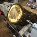 January 2015 Live Edge Walnut Bowl